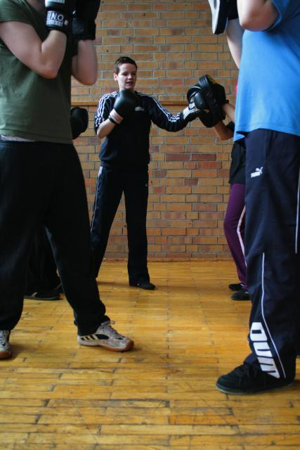 Trainingsblock Boxen